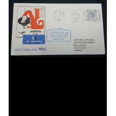 1961 FIRST FLIGHT COVER SCARCE SLOGAN COVER