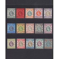 **1904 King Edward VII set of 16