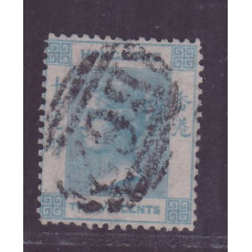 1863 QV 12c reversed watermark variety