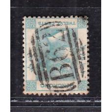 1863 QV 12c inverted watermark vareity