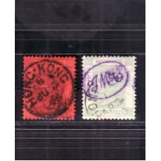 1891 SET OF 2 JM&Co