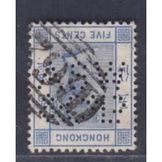 1882 QV 5c CA WMK ASW & Co A2236
