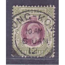 1904 KE $1 VFU 1912 CDS