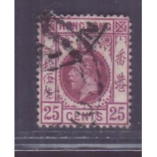 1912 KGV 25c TYPE B