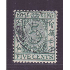 1938 postal fiscal 5c VFU