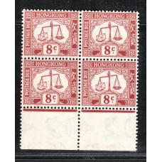 1938 8c block of 4