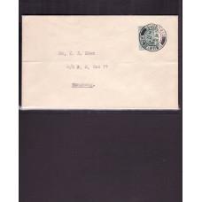 1938 Postal Fiscal 5c post local 21th cds