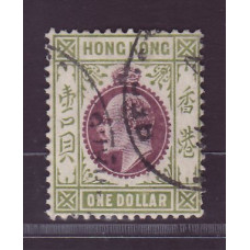 1904 KE $1 chalky paper VFU