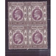 1903 KE 1c B/4 MINT / UM