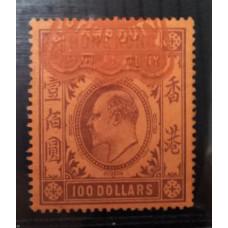 ** 1904 KE REVENUE $100 VFU  RARE