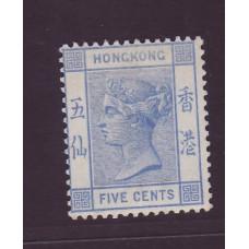 1882 QV 5c VF MINT OG