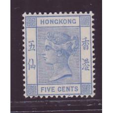 1882 QV 5c VF MINT
